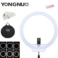 New YONGNUO YN608 CRI 95+ 5500K 4864LM Adjustable LED Photography Camera Video Studio Wireless Ring Light for Canon Nikon Sony