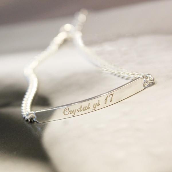 pulseras Brazalete Placa de identificación marca joyería grabado y - Maquinaría para carpintería - foto 5