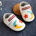 New 2016 Spring Kids Shoes Soft High Quality Genuine Leather Baby Boy First Walker Stars Moon Baby Shoes #2976