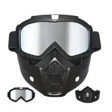 0664449450a7f5 Airsoft paintball Lunettes avec Tactique Masque Moto Casque D équitation  Ski Lunettes Lunettes Avec Amovible
