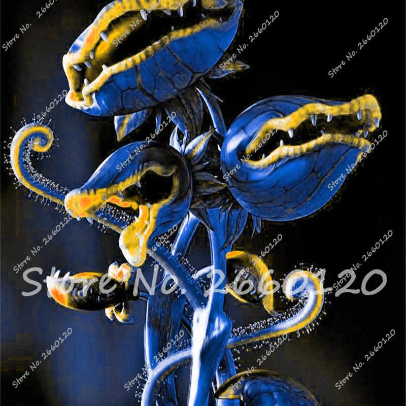 100 قطعة/الحزمة بونساي Dionaea Muscipula العملاق كليب فينوس صائدة الحشرات حديقة النبات بونساي الحيوانات المنوية