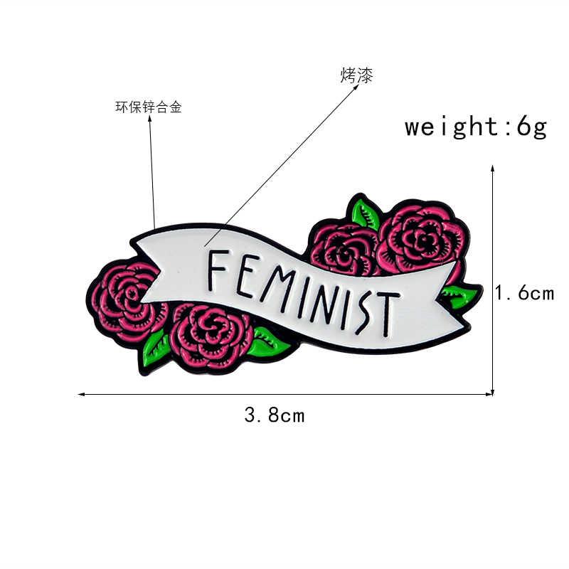 Red Rose ดอกไม้สตรีไดโนเสาร์ฮาโลวีนกาแฟแมว Brooches Enamel Lapel PIN กระเป๋าเป้สะพายหลังกระเป๋าอุปกรณ์เสริมของขวัญผู้หญิง