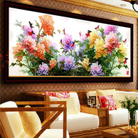 CNA 5D diy mosaic art needlework peony flower diamond painting rhinestone pasted diamond cross stitch diamond flower embroidery