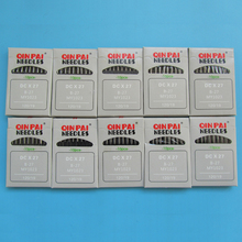100 regular point Sewing Needle B27  Serger overlock #DCX27 important: choose you wanted size from product description.