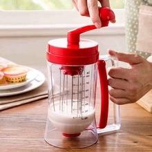 Neueste Rote Hand Pfannkuchenteig Spender Cupcake Baking Essentials-kuchenteig Geschenk
