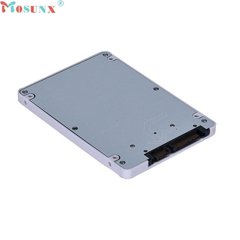 купить Mosunx SimpleStone 1.8Inch Micro Sata SSD HDD To 2.5Inch Sata Adapter Card With Case  60322 недорого