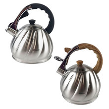 3.5L Stainless Steel Coffee Whistling Kettle Water Kitchen Kettles Induction Cooker Whistle Tea Water Pot Home Kitchen цены онлайн