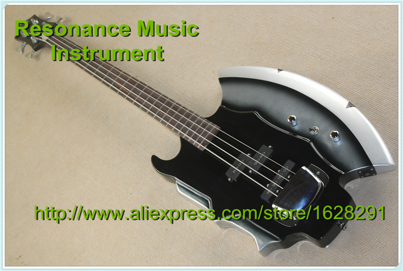 New Cort GENE SIMMONS AXE Electric Bass Guitar 4 Strings Bass Guitar In Stock