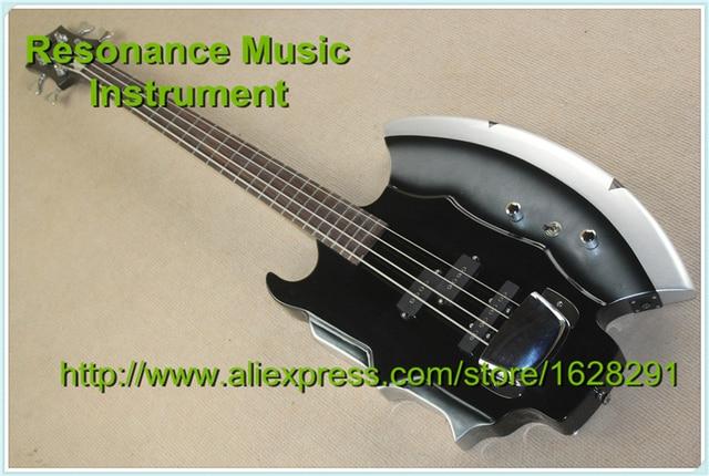 New Cort GENE SIMMONS AXE Electric Bass Guitar 4 Strings Bass Guitar In Stock
