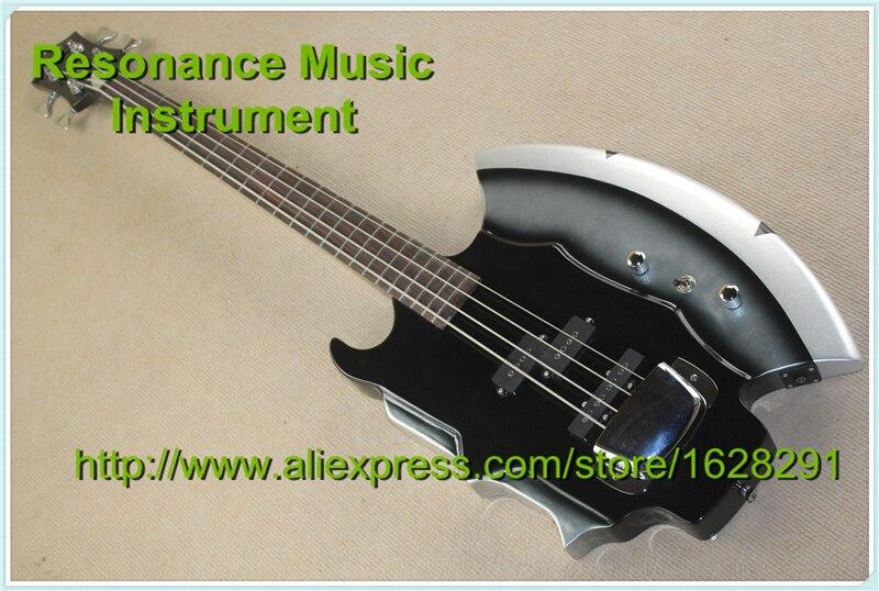 Nuovo cort gene simmons axe chitarra basso elettrico 4 corde basso elettrico in magazzino