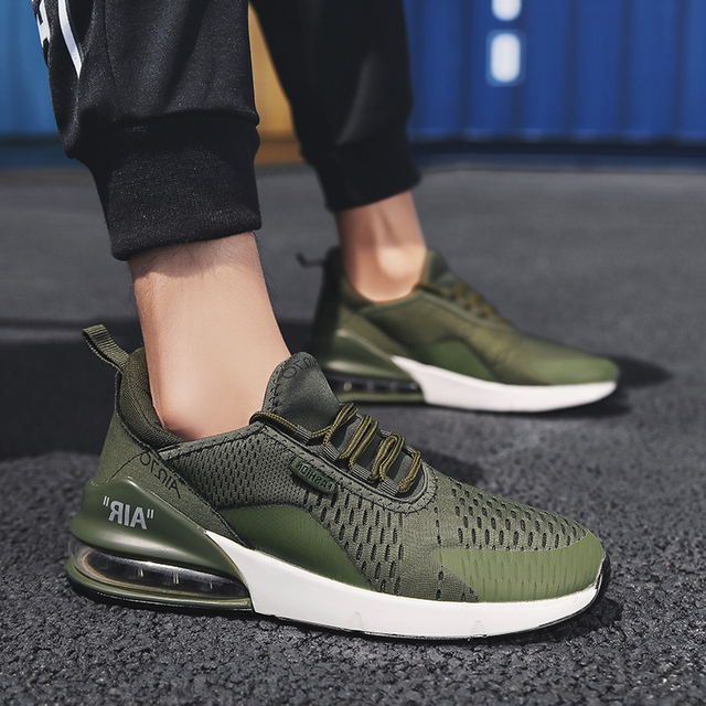 Army Green Jogging Sneakers