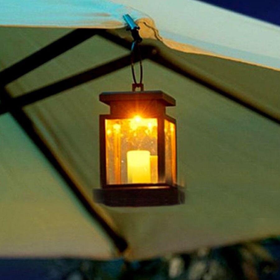 thrisdar 4pcslot solar led garden hanging candle light outdoor solar lantern ball patio pathway - Outdoor Solar Lanterns