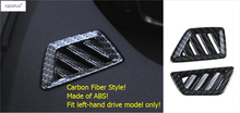 Lapetus Accessories For Peugeot 5008 GT 2017 2018 2019 Dashboard Inside Air Conditioning AC Outlet Vent Molding Cover Kit Trim lapetus accessories for peugeot 5008 gt 2017 2018 abs rear armrest box air conditioning ac vent outlet molding cover kit trim