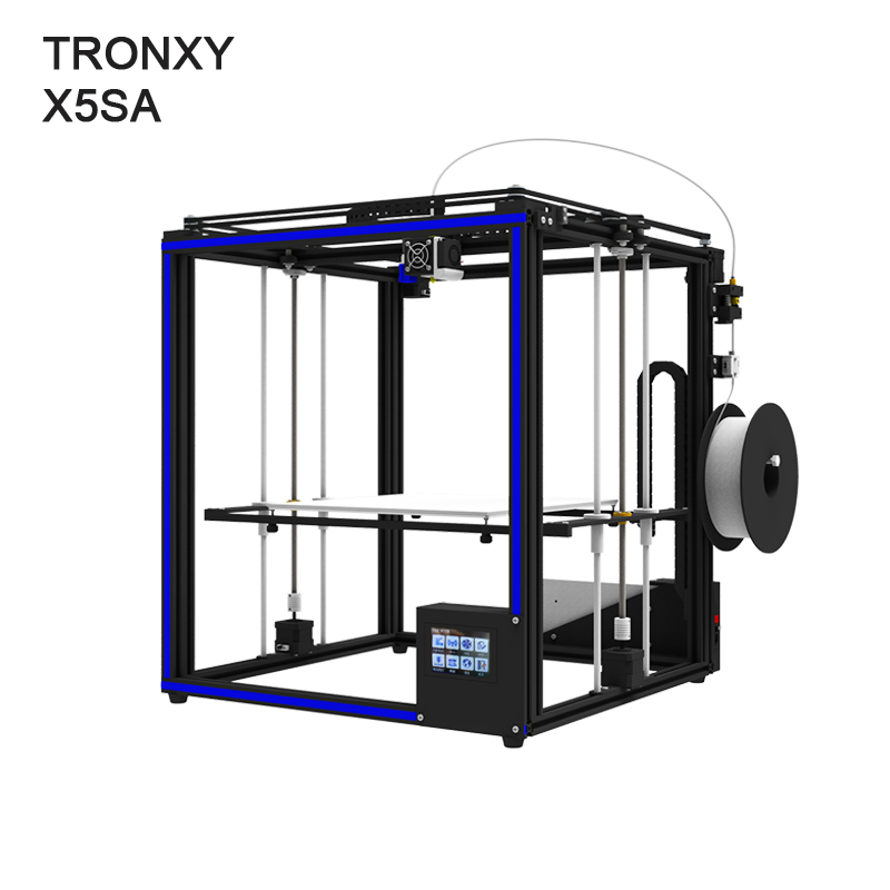 Auto leveling Tronxy X5SA DIY 3d Printer Full metal 3d machine 3.5 inches Touch screen все цены