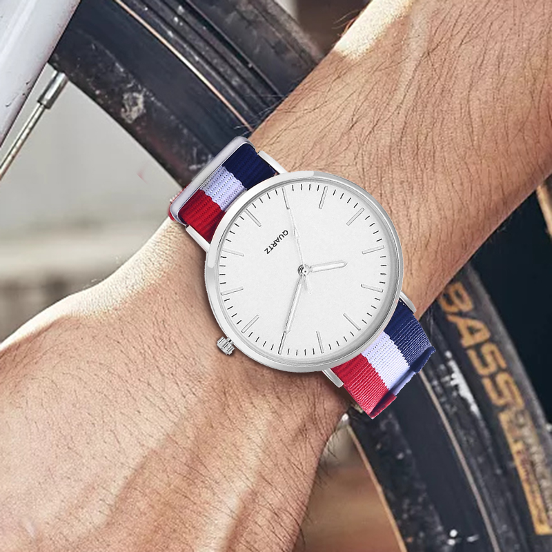 Nylon Strap Style Quartz Couple Top Brand Watches Fashion Casual Fashion Wristwatch Hot Sale Watch Montre Femme Relogio Feminino