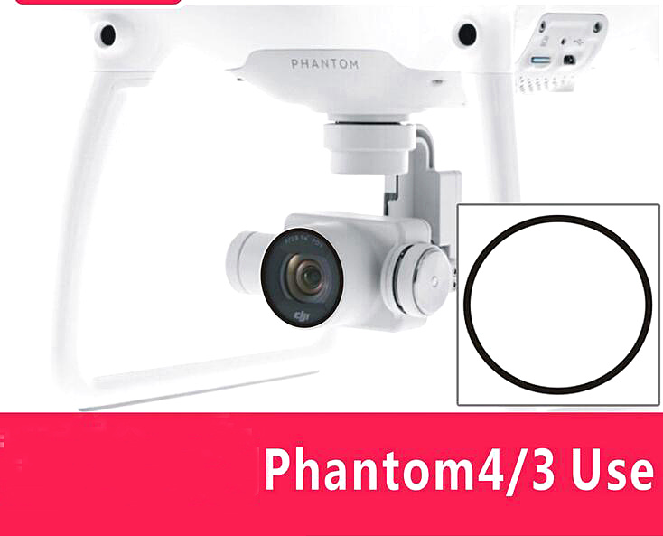 DJI Phantom 4 Phantom 3 accessories camera lens thin glass protective film protective film dust and scratch