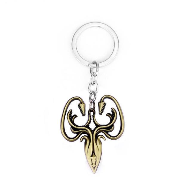 House Greyjoy Family Crest Keychain