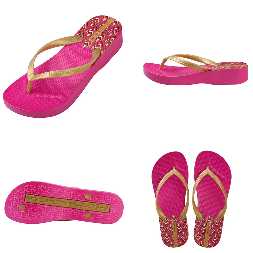 231ab1df2 Hotmarzz Women High Heel Platform Flip Flops Wedges Slippers Ladies 2017 Summer  Slippers Woman House Shoes Beach Thong Sandals