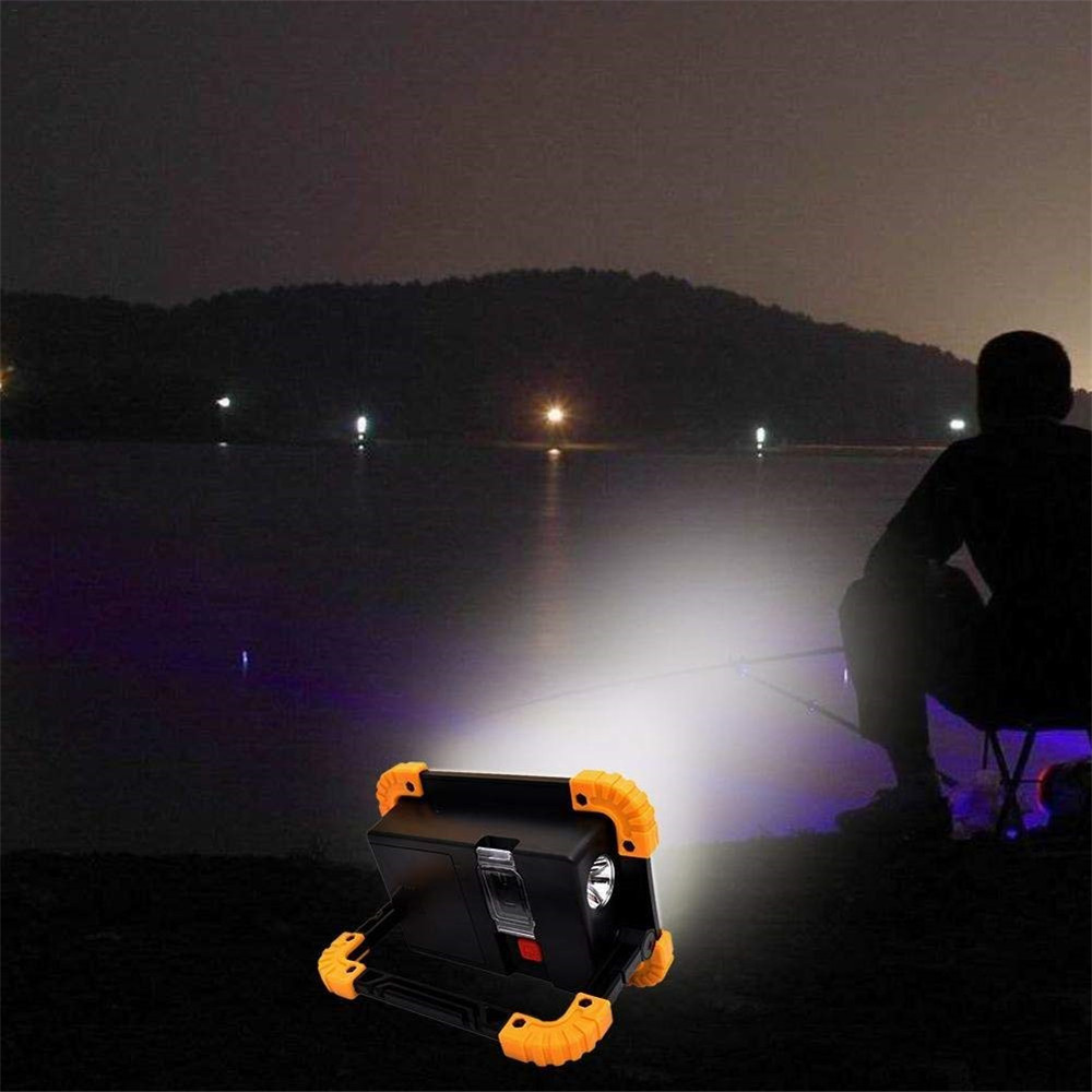 Купить с кэшбэком 20W COB Led Work light Multi function Portable Waterproof USB or Battery operated Outdoor Camping Hiking Working Light