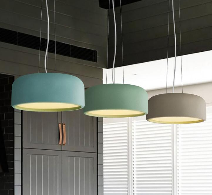 modern Nordic led Macarons pendant light restaurant Cafe bar Living room hanging lamp цены