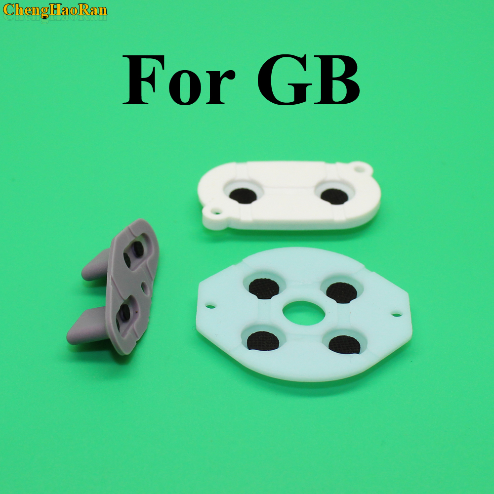 30 100 sets For Gameboy Classic GB Conductive Rubber Pads Conductive adhesive Replacement for GB DMG Game Console-in Replacement Parts & Accessories from Consumer Electronics