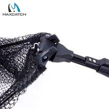 Maximumcatch New Folding Fly Fishing Landing Net with Telescoping Handle Fishing Net