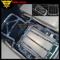 For Harley Touring Street Glide Road king 2009 2017 2014 2015 2016 FLTR FLHX Road Glide motorcycle Air Wing Two Up Luggage Rack