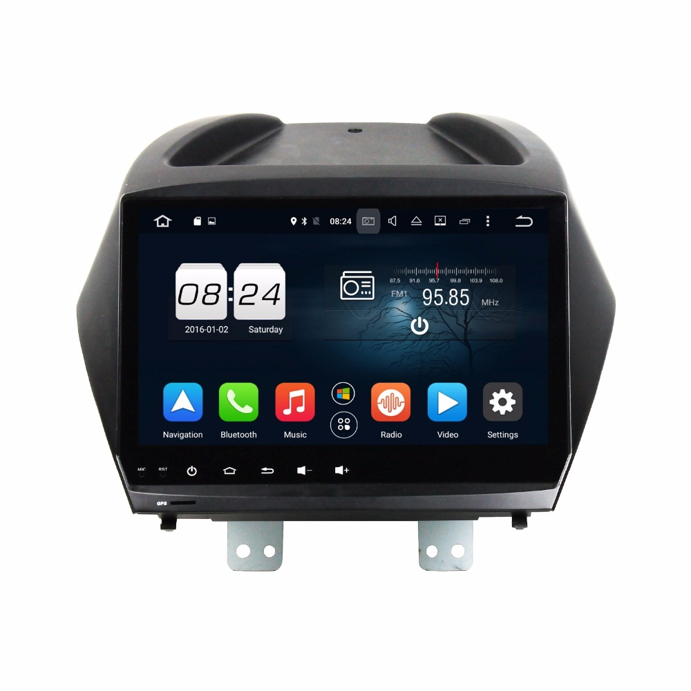 1024 600 Octa Core 2 din 9 Android 6 0 Car DVD GPS for Hyundai IX35