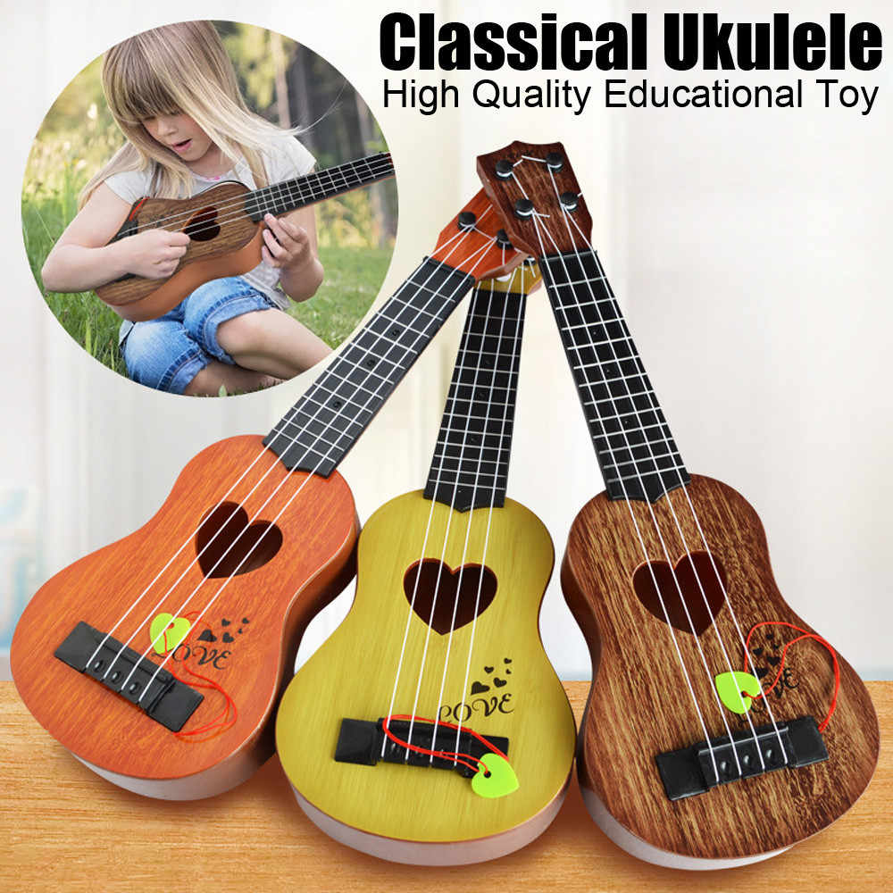 Beginner Classical Ukulele Guitar musical educational kids Musical Instrument Toy for Kids musical toys for kids Christmas Gift