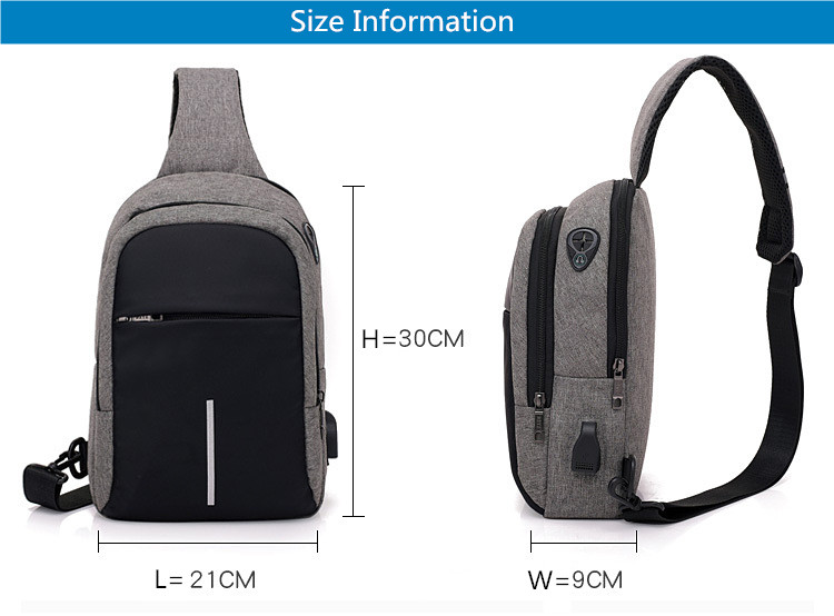 FengDong small usb charge one shoulder bag men messenger bags male waterproof sling chest bag 2019 new bagpack cross body bags