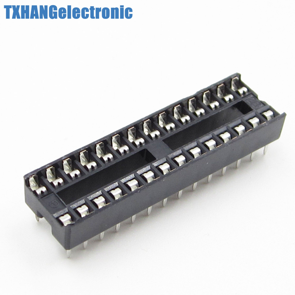 10pcs 28 pin 28p narrow dip ic sockets adaptor solder type 10pcs 28 pin 28p narrow dip ic sockets adaptor solder type socket 254mm pitch publicscrutiny Images