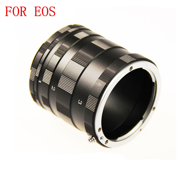 Tracking Number Macro Extension Tube Ring Adapter for Canon EOS EF DSLR SLR 700D 650D 600D