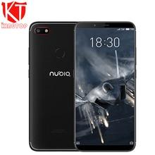New Nubia V18 Mobile Phone 4GB font b RAM b font 64GB ROM 6 01 inch