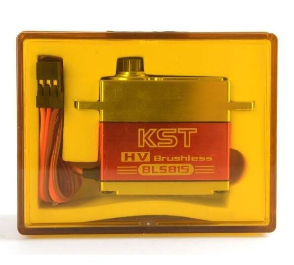 KST BLS815 bezszczotkowy wysokiego napięcia serwo przekładni 4 pc w Części i akcesoria od Zabawki i hobby na  Grupa 3