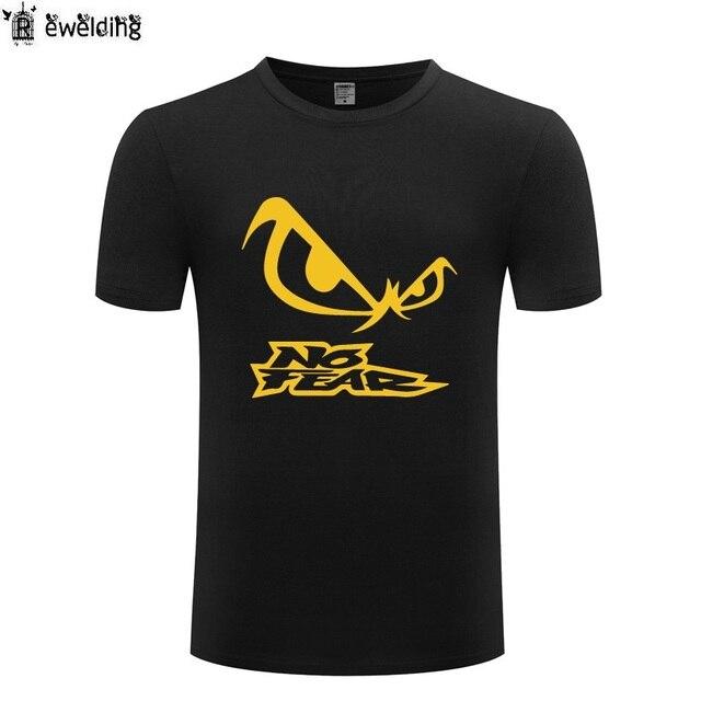 65f837b1122c4d NO FEAR Printed Men T Shirt Novelty Funny T Shirts Men Cotton Short Sleeve  Tshirt Streetwear