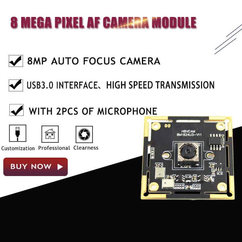 IM179 8MP Auto focus usb camera module with usb3.0 interface support Window XPLinuxAndroid system-in Surveillance Cameras from Security & Protection    1