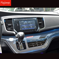 Car Sticker For Honda transparent TPU Protective Film stickers for Honda Odyssey 2017 2018 Interior accessories