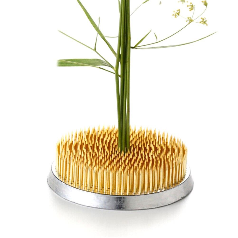 Art Fixed Tools Flower Arrangement Insert Base Ishizaki Kenzans Pin Art Fixed Tools 4sizes Round Japanese Flower Holder