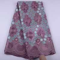 Cebola de alta qualidade swiss voile laços na suíça algodão africano tecido renda de algodão seco nigeriano homem renda voile 5 metros y1468