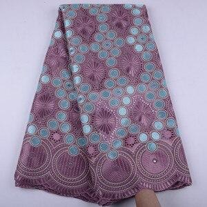 Image 1 - Oignon, dentelle suisse Voile, en suisse, tissu coton, africain, tissu en dentelle de coton sec nigérian, homme, 5Yards, Y1468