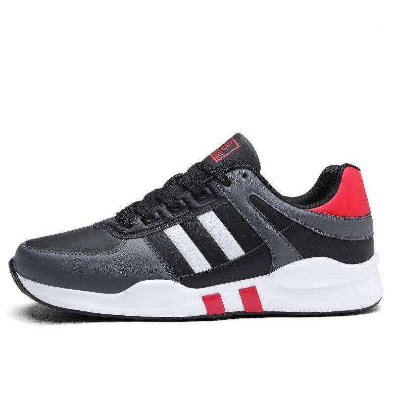 Модные черные сапоги Новое поступление Для мужчин дышащая мужской Прохладный Повседневная обувь для Для мужчин Тренд обувь Для мужчин S Кла... ...