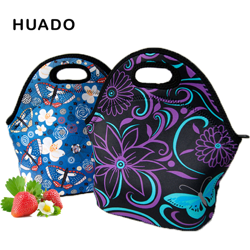 Neoprene Lunch Bags For Women Portable Insulated Lunch Box