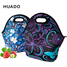 neoprene lunch bags for women Portable Insulated lunch box bag Thermal Picnic tote Bags for kids Men