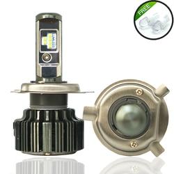 JGAUT TURBO T6 CSP LED H4 H7 H11 H1 9005 9006 H3 HB3 HB4 60W 8000lm Car LED <font><b>Headlights</b></font> <font><b>Bulb</b></font> Fog Light 6000K 12V 12V automobiles