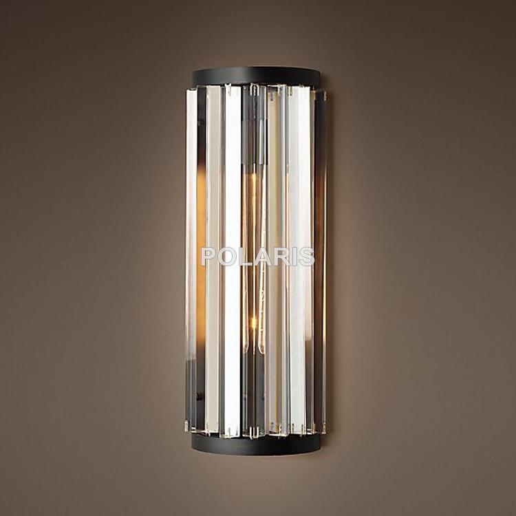 tomada de fabrica arte decoracao luxo do vintage k9 lustre cristal arandela lampada luz iluminacao para