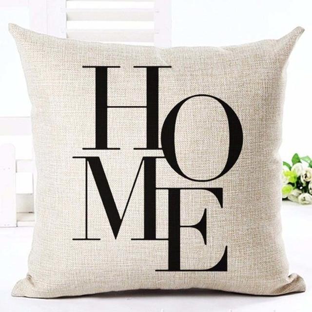 Home Linen Pillowcase Size: 45cm WT0057 Color: 19