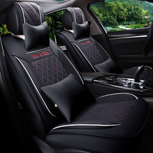 Car Styling Leather Seat Covers for Benz GL R font b Sports b font Seat Protection