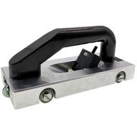 Ranurado de rueda de hoja Tipo V herramienta de mano ranuradora PVC