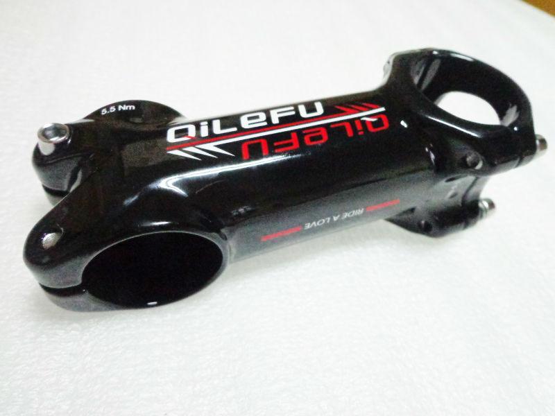 Nejnovější QILEFU horské kolo slitiny stonek silniční kolo stonek nejlehčí MTB díly 31,8 * 60/70/80/90/90/100/110/120 mm Doprava zdarma