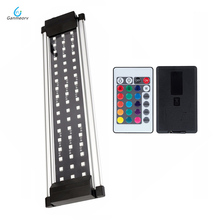 30-50cm 11W Aquarium LED Lighting Aquatic Plant Fish Tank Light Lamp With Extendable Brackets Fits for aquarium remote controll керамическая плитка atlas concorde axi silver fir 22 5x90 керамогранит